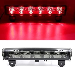 High Mount Stop Lights Full Rear LED 3RD Third Brake Tail Light LED for 2000-2006 Chevrolet Suburban 1500/2500 2000-2006 Chevrolet Tahoe 2000-2006 GMC Yukon XL 1500/2500