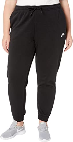 Plus Size NSW Essential Pants Regular Fleece