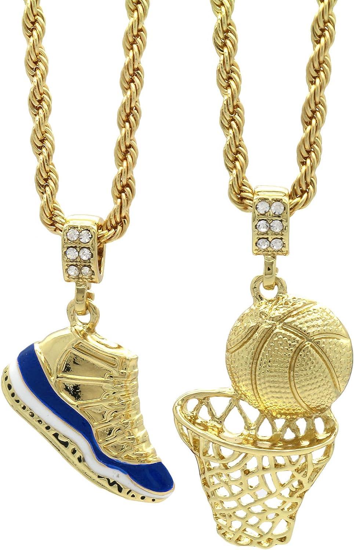 Mens Gold PT HipHop Retro 11