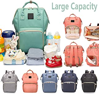 Diaper Bag for Baby Care Large Waterproof Mommy Nappy Backpack Travel Nursing