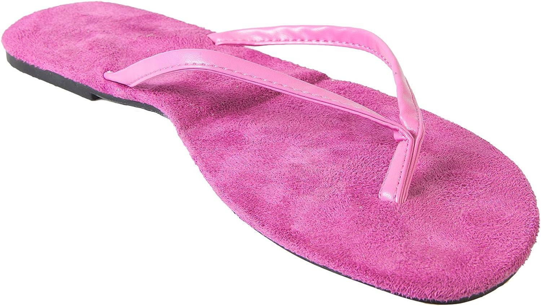 DAWGS USA Bendables Flip Flops (7-8, Hot Pink)