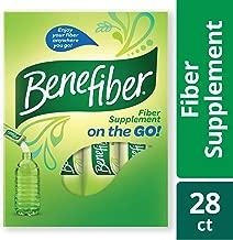 Benefiber Fiber Supplement Powder Stick Packs for Digestive Health, 28 sticks, 3.92 ounces