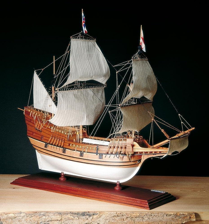 bienvenido a elegir AMATI 1413. KIT DE MODELISMO NAVAL NAVAL NAVAL Mayflower 1 60. KIT DE MADERA Y METAL  tienda de venta