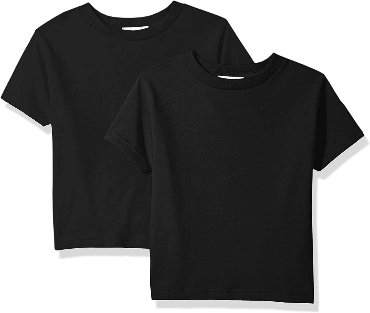Clementine Unisex Baby Boys' Little Everyday Toddler T-Shirts Crew 2-Pack