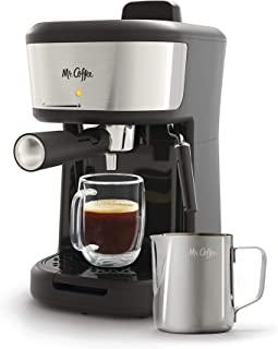 Mr. Coffee Vapor Espresso Cappuccino y Latte Maker, talla única, negro