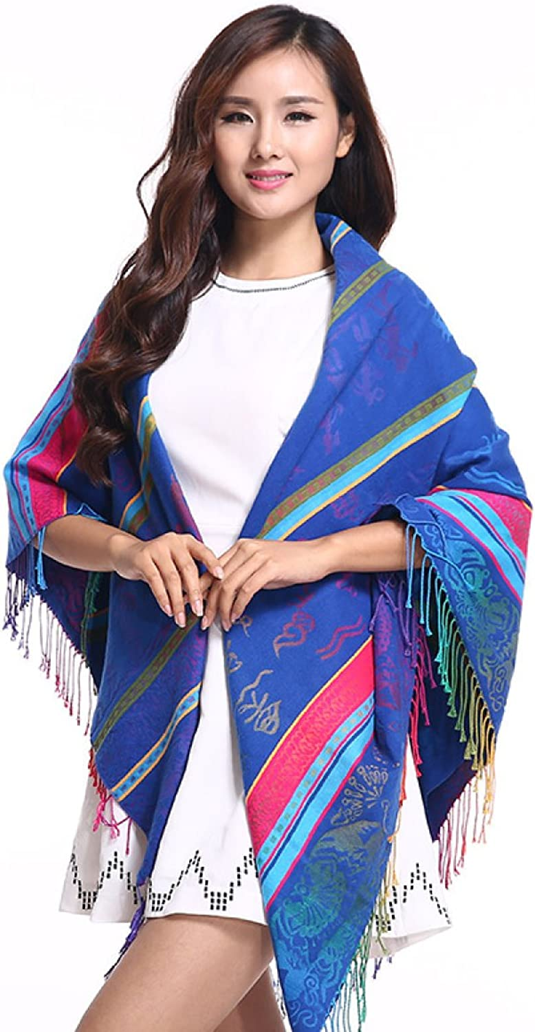 2017 High Grade New Scarf Autumn And Winter Printing Warm Shawl Square,6OneSize