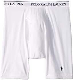 Classic Fit w/ Wicking 3-Pack Long Leg Boxer Briefs