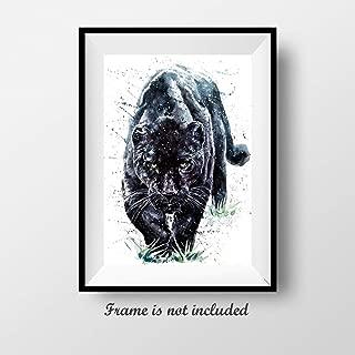 7Dots Art. Wild Animals. Watercolor Art Print, Poster 8