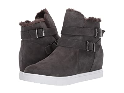 Blondo Geneva Waterproof (Dark Grey Suede) Women