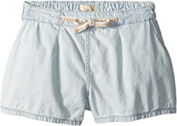 Roxy Kids - Fearless Flyers Denim Shorts (Big Kids)