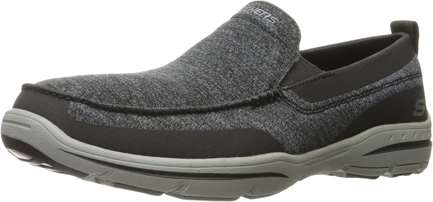 Skechers Mens Harper Moven Slip-On Loafer