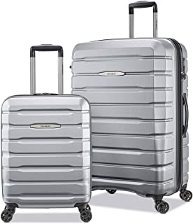 Samsonite Tech-3 Lot de 2 valises rigides Argenté