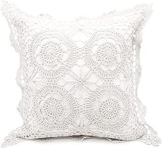 Best white crochet pillow Reviews