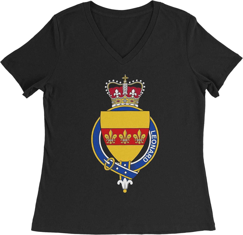 HARD EDGE DESIGN Women's English Garter Family Leonard T-Shirt