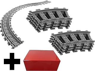 8 vías curvas + 16x vías flexibles