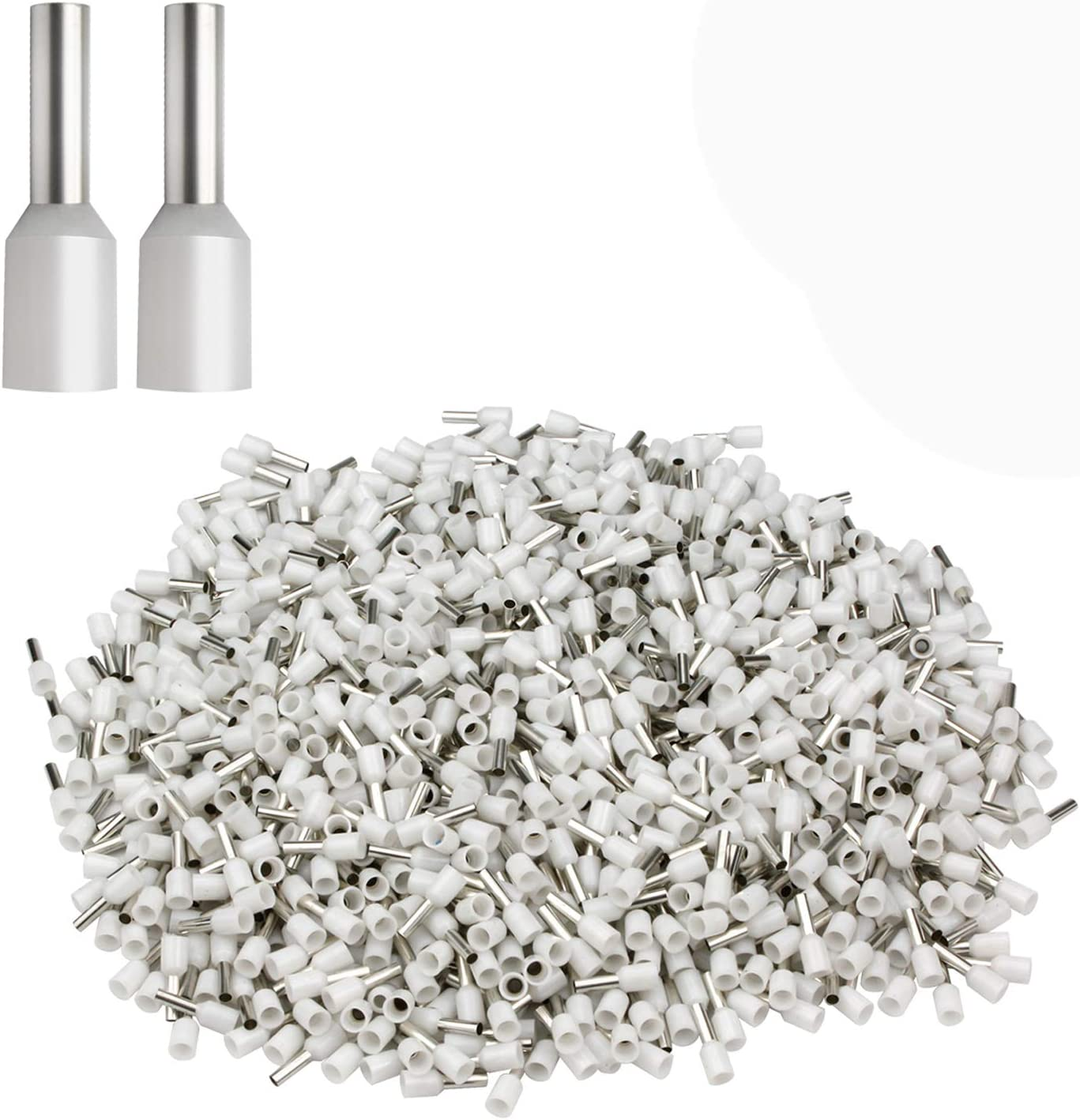 XHF Seasonal Wrap Introduction 1000 PCS AWG 20 Ferrule Crimper Insulated Te Crimp Save money Pin Plier
