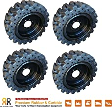 no flat skid steer tires