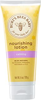 Burt's Bees Baby Nourishing Lotion, Calming Baby Lotion - 6 Ounce Tube