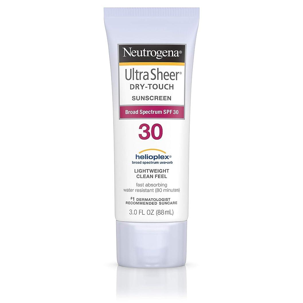 こどもの日実質的に悲観的Neutrogena Ultra Sheer Sunblock Dry Touch SPF 30 (並行輸入品)