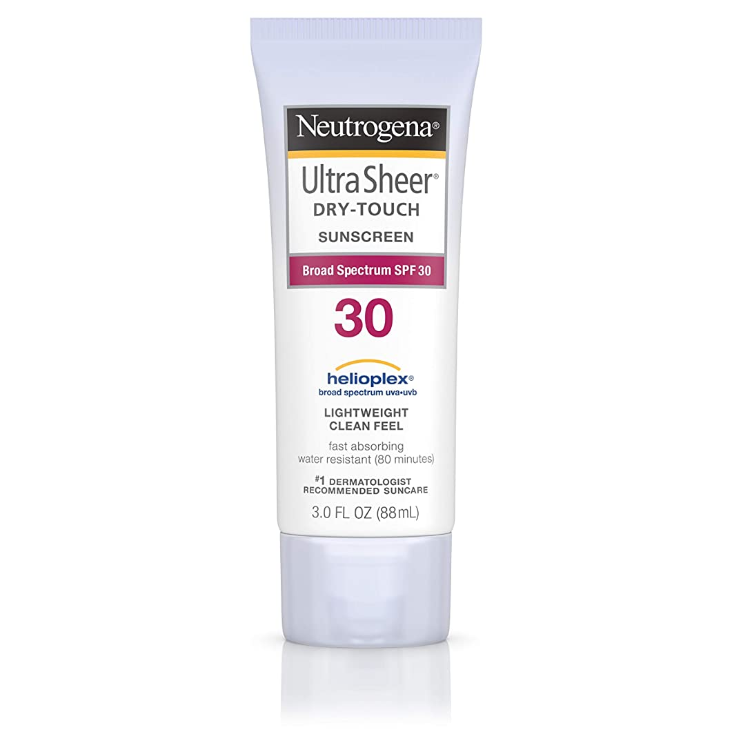 マイルド大人反乱Neutrogena Ultra Sheer Sunblock Dry Touch SPF 30 (並行輸入品)