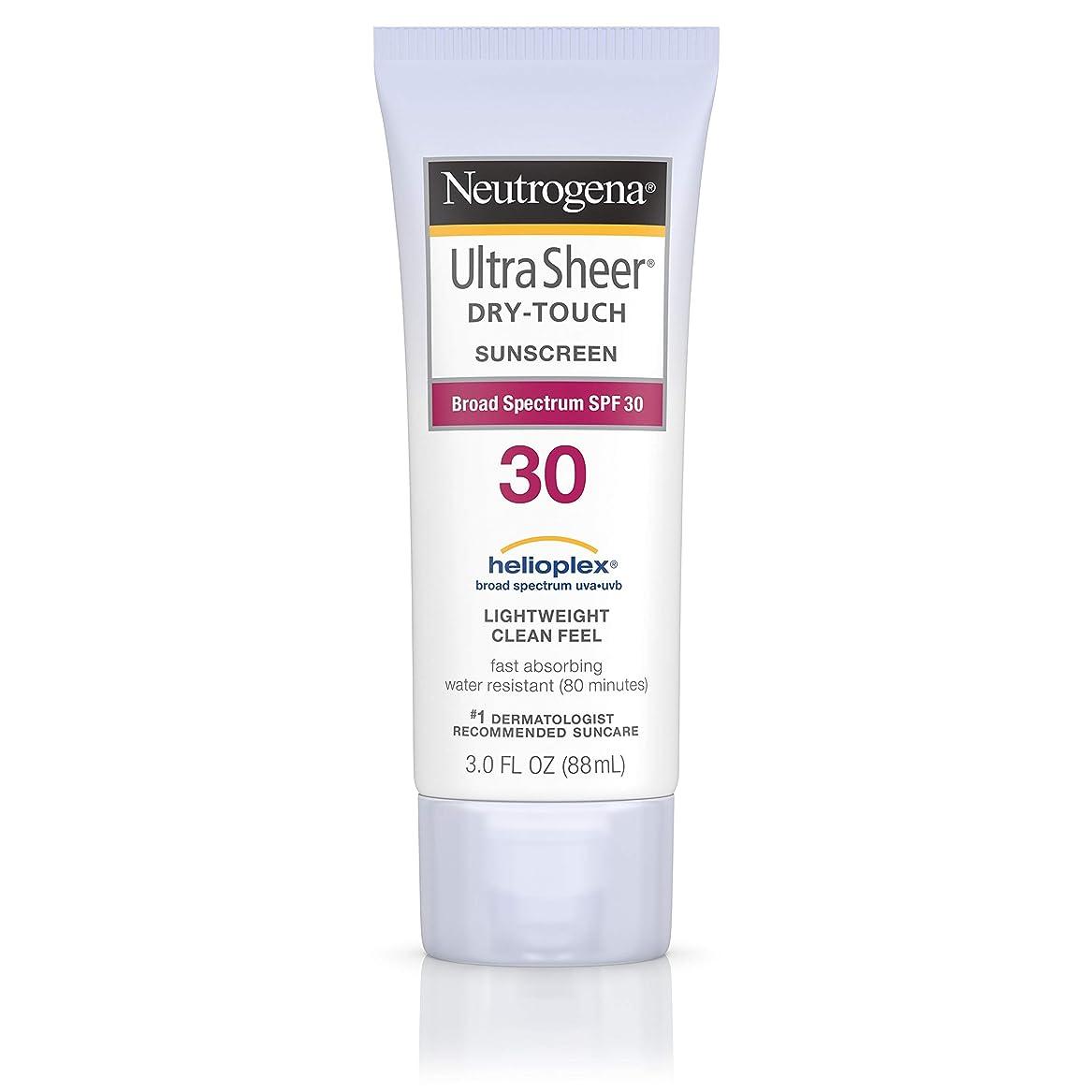 法律によりスキムコートNeutrogena Ultra Sheer Sunblock Dry Touch SPF 30 (並行輸入品)