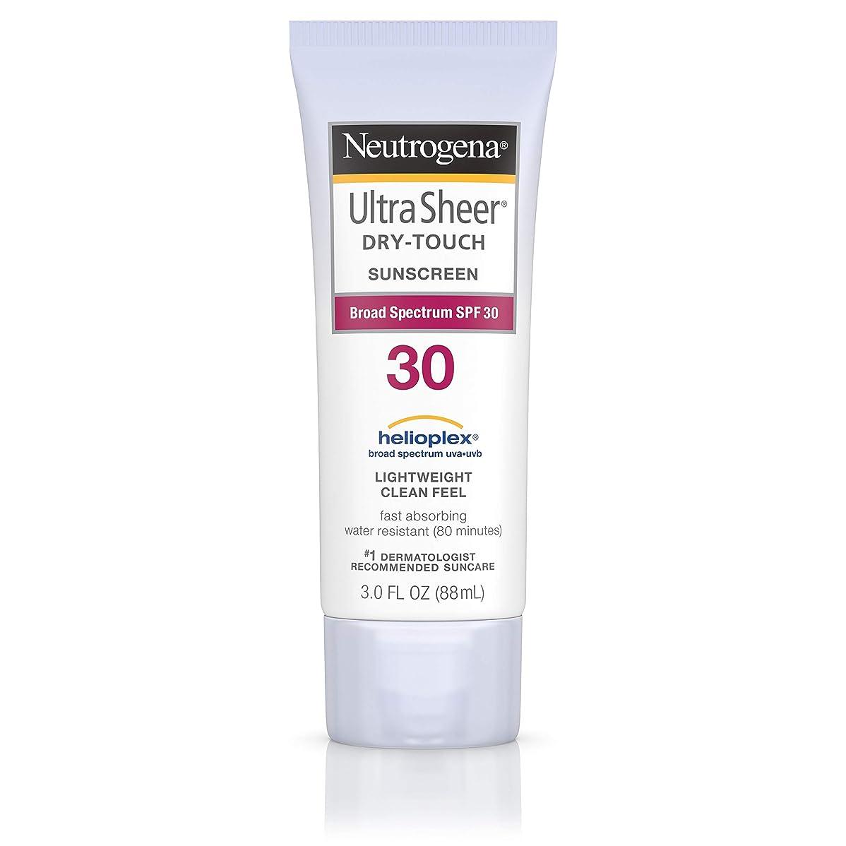 不誠実クローン潮Neutrogena Ultra Sheer Sunblock Dry Touch SPF 30 (並行輸入品)