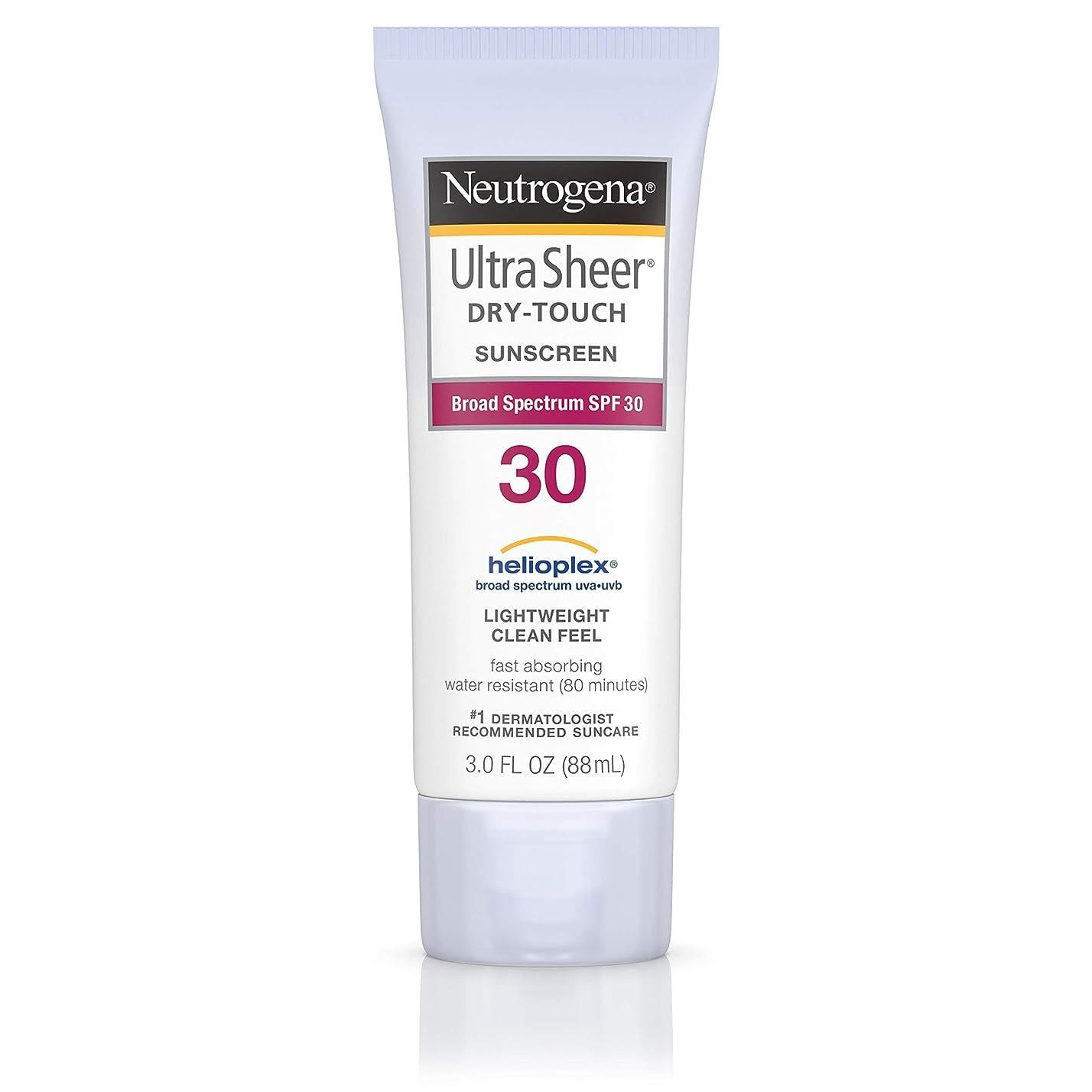 スクラブ符号うんNeutrogena Ultra Sheer Sunblock Dry Touch SPF 30 (並行輸入品)
