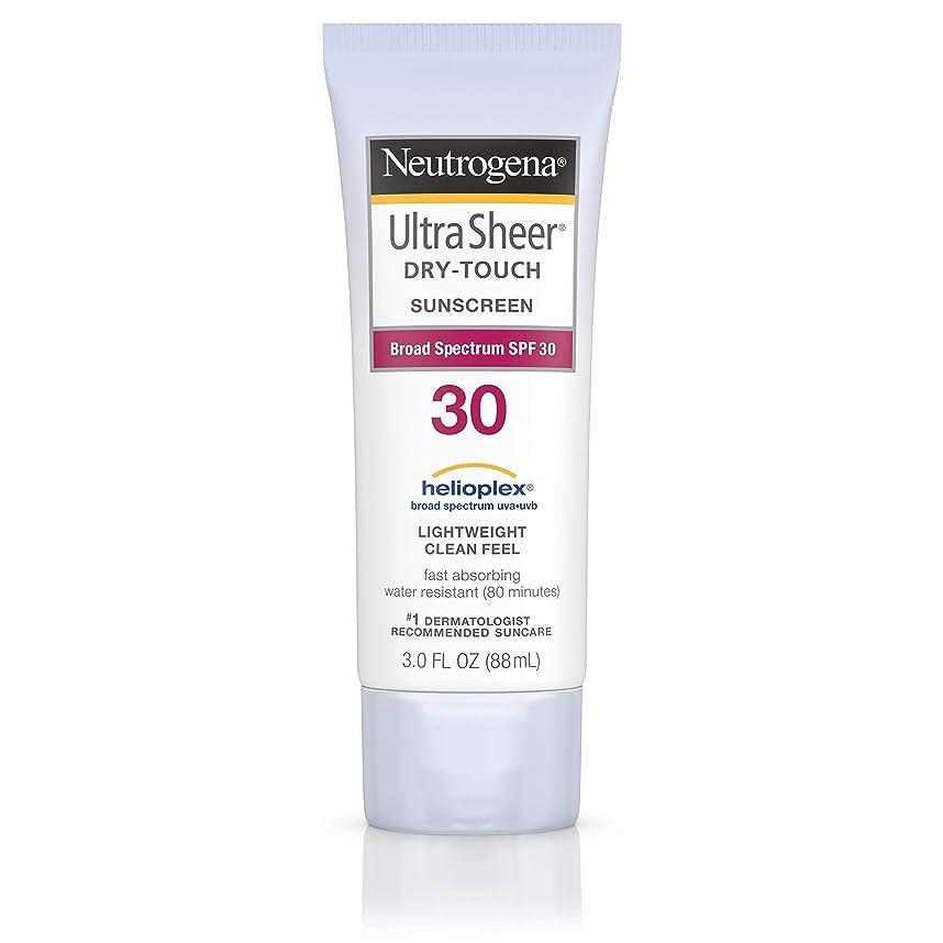 肉腫エンドテーブル宇宙のNeutrogena Ultra Sheer Sunblock Dry Touch SPF 30 (並行輸入品)