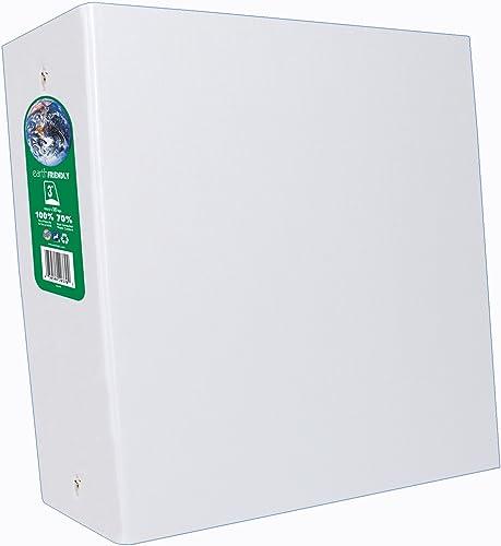 Aurora Produkte AUA09076 Runde Ringbuch-3in. Cap-11in.x8-.50in -. Weiß