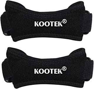 Kootek 2 Pack Knee Strap Patella Tendon Brace Adjustable Neoprene Knee Pain Relief Patella Strap Band Support Brace Pads for Running, Jumpers Knee, Tennis, Basketball, Tendonitis