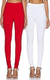 Amazon Brand - Tavasya Women's Legging Chudidar Bottom (Combo Pack of 2)