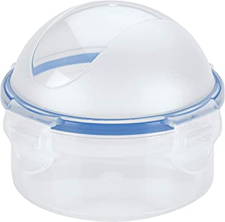 LOCK & LOCK Easy Essentials Food Storage lids/Airtight containers, BPA Free, Onion-10 oz, Clear