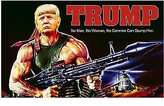 Danrtsey Trump 2020 Flag, Keep American Great Again Trump Election Flag Donald Trump 2020 Banner, Vivid Color and UV Fade Resistant