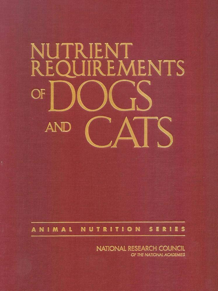 Image OfNutrient Requirements Of Dogs And Cats