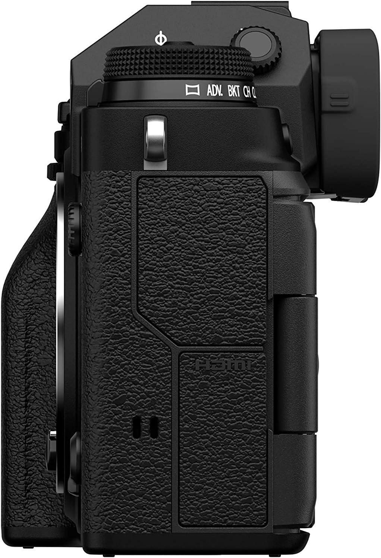 Fujifilm X-T4 Mirrorless Camera Body Black with VG-XT4 Vertical Battery Grip