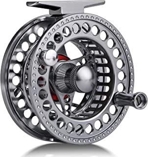 Sougayilang Fly Fishing Reel with CNC-machined Aluminum...