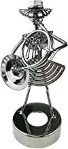 Creative Iron Art Metal Nuts Sculpture Ornament Artwork Home Office Decor (C027 French Horn)