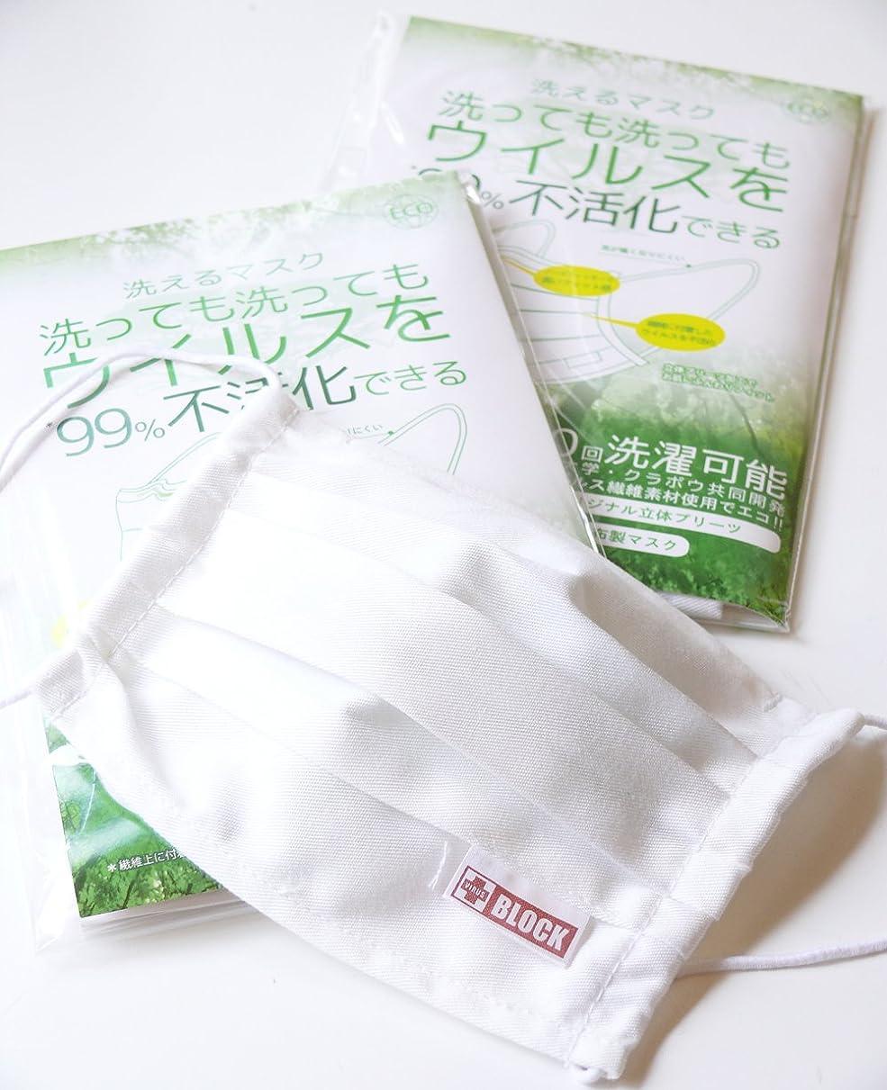 適切に征服するブラウン洗えるマスク プリーツタイプ 3枚セット レギュラーサイズ ホワイト