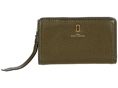 Marc Jacobs Compact Wallet (Balsam Fir) Wallet Handbags