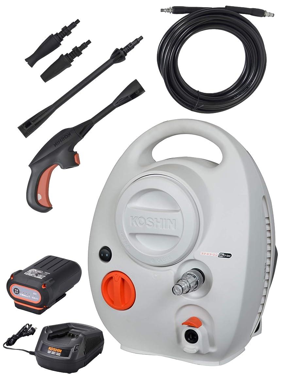 スカウト健全アクロバット工進(KOSHIN) 高圧洗浄機 充電式 36V スマートコーシン バッテリー?充電器付き SJC-3625