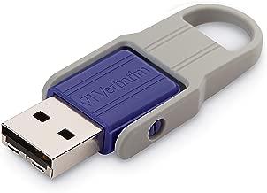 32GB Store n Flip USB Drive - Violet