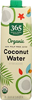 365 by Whole Foods Market, Organic Plant-Based Water, Coconut (Single), 33.8 Ounce