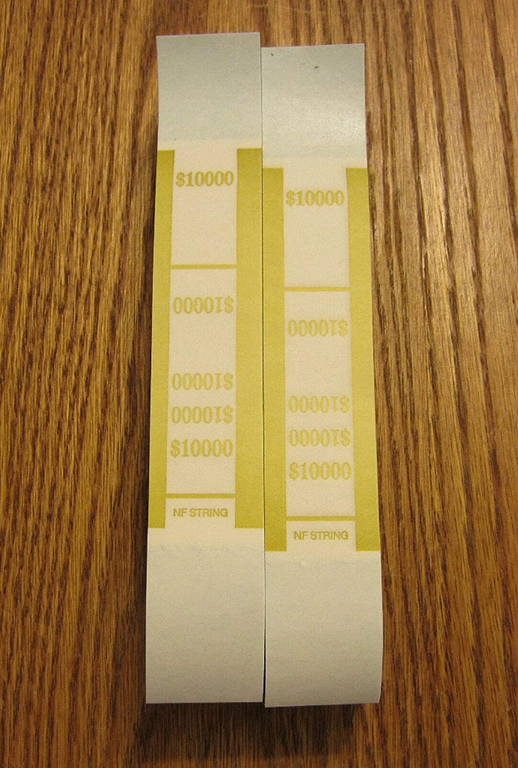 100 SELF Sealing Currency Straps Money Bands Bill PMC Price reduction $10000 Max 89% OFF