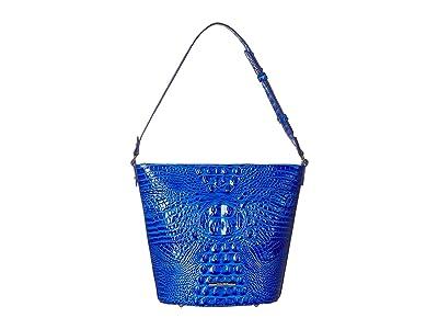 Brahmin Melbourne Quinn (Cobalt) Handbags
