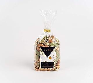 Scharf-salzige Nussmischung mit Chili Wasabi 250 g – Feuer und Flamme