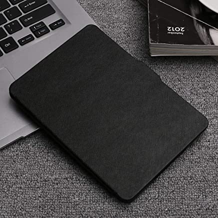 Naisedier for Kindle Paperwhite Leather Case Stand Holder Cover Leather Case Bracket Office Work Tablet/e-Book Cover Black