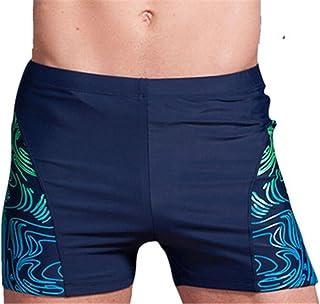 553f8251cb Jingjqingcao Men Plus Size Swimming Trunks Zipper Pocket Swimsuit Shorts  Beach Wear Boxer Briefs