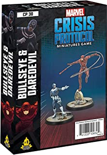 Atomic Mass Games - Marvel Crisis Protocol: Character Pack: Bullseye and Dare - Miniature Game