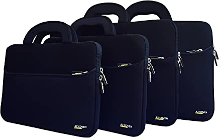 """AZ-Cover 17.3-Inch Laptop Sleeve Case Bag (Black) With Handle For G750JW-NH71 17.3"""" Notebook - Intel Core i7 i7-4700HQ"""