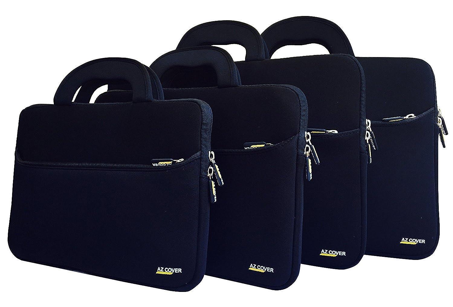 AZ-Cover 15.6-Inch Laptop Sleeve Case Bag (Black) With Handle For HP Pavilion 15.6-Inch Laptop 6th Gen Skylake, Intel Core i5-6200U